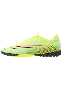 Nike Performance - MERCURIAL VAPOR 13 ACADEMY TF - Korki Turfy - lemon/black/aurora green