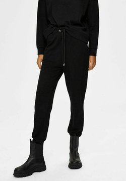 Selected Femme - Jogginghose - black