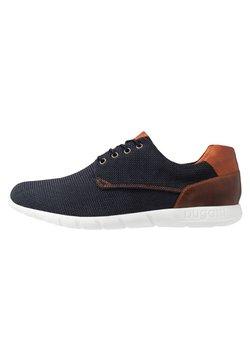 Bugatti - BAMBOLA - Sneaker low - blue/brown