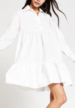 River Island - Vestido camisero - white