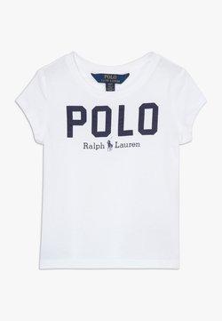 Polo Ralph Lauren - ICON  - T-shirt z nadrukiem - white