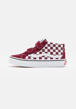 Vans - SK8-MID REISSUE UNISEX - Sneakers alte - pomegranate/true white