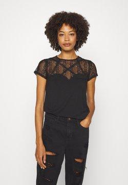 Guess - A$AP ROCKY LOUISE - T-Shirt print - jet black