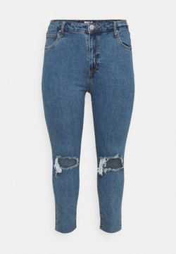 Cotton On Curve - CURVE TAYLOR MOM - Jeans Skinny Fit - blue