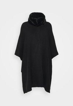 Marks & Spencer London - COLLAR WRAP - Cape - black