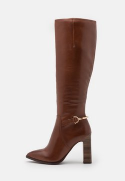 Tamaris Heart & Sole - BOOTS - High Heel Stiefel - brandy