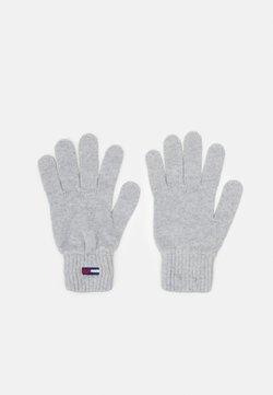 Tommy Jeans - BASIC FLAG GLOVES - Fingerhandschuh - grey
