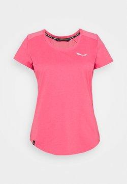 Salewa - ALPINE - T-Shirt basic - camellia rose