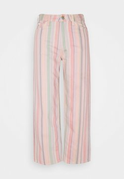 Lee - WIDE LEG - Jeans Relaxed Fit - rainbow stripe