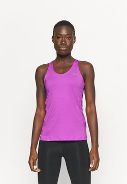 Under Armour - RACER TANK - Funktionsshirt - exotic bloom
