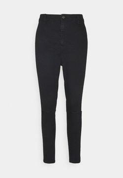Topshop - BLACK RIP JONI - Jeans Skinny Fit - black