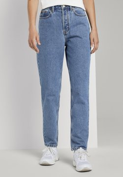 TOM TAILOR DENIM - Jeans Relaxed Fit - clean mid stone blue denim