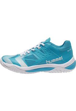 Hummel - DUAL PLATE POWER - Sneakers laag - hawaiian ocean