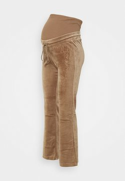 Lindex - MOM ROSE  - Pantalones deportivos - dark dusty beige