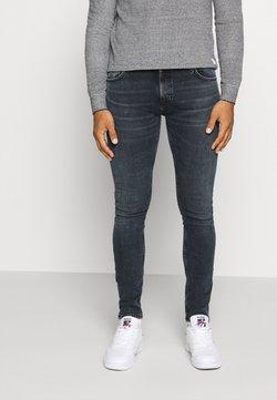 Nudie Jeans - LIN - Jeans Skinny Fit - black yard