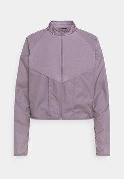 Nike Performance - RUN MID - Veste polaire - purple smoke