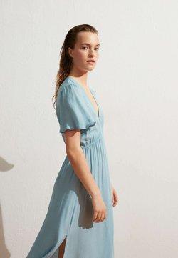 OYSHO - Sukienka letnia - turquoise