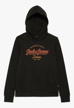 Jack & Jones Junior - JJELOGO SWEAT HOOD 2 COL NOOS JR - Kapuzenpullover - black