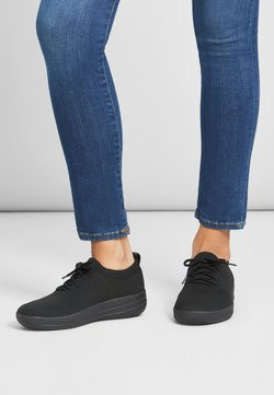FitFlop - UBERKNIT - Sneaker low - all black