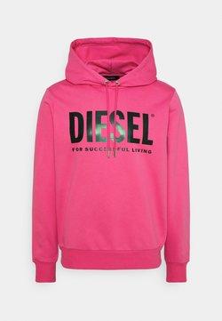 Diesel - HOOD DIVISION LOGO - Huppari - pink