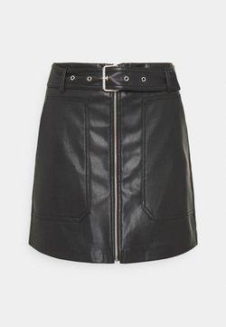 JDY - JDYALASKA SKIRT - Mini skirt - black