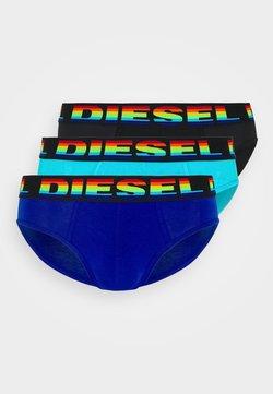 Diesel - UMBR-ANDRETHREEPACK UNDERPANTS 3 PACK - Slip - blue/black/blue
