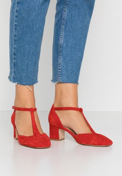 Anna Field - LEATHER PUMPS - Pumps - red