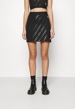 Calvin Klein Jeans - MILANO SKIRT - Minirock - black