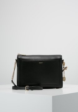 DKNY - SUTTON - Across body bag - black/gold