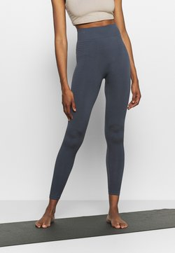 South Beach - SEAMLESS PANELLED LEGGING - Medias - ombre blue