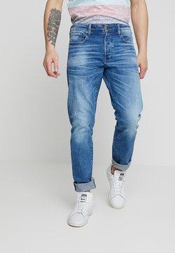 G-Star - 3301 STRAIGHT FIT - Jeans Straight Leg - azure stretch denim
