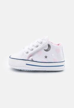 Converse - CHUCK TAYLOR CRIBSTER - Krabbelschuh - white/pink/silver