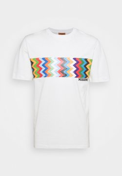 Missoni - MANICA CORTA - T-shirt print - offwhite/multicoloured