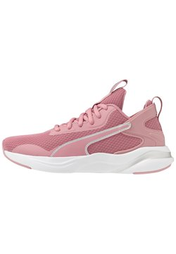 Puma - SOFTRIDE RIFT - Zapatillas de running neutras - foxglove/white