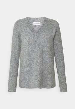 By Malene Birger - BIFORA - Sweter - medium grey melange