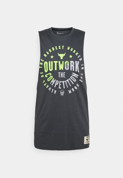 Under Armour - PROJECT ROCK OUTWORK TANK - Top - pitch gray