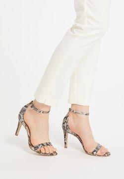 faina - Sandalen met hoge hak - schlange