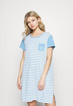 Lauren Ralph Lauren - SHORT NIGHTGOWN - Nachthemd - blue