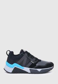 Diesel - S-BRENTHA - Sneakersy niskie - black/grey