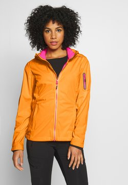 CMP - WOMAN JACKET ZIP HOOD - Softshelljacke - solarium