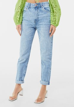Bershka - MOM FIT JEANS - Jeans Relaxed Fit - blue denim