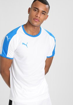 Puma - LIGA  - Pelipaita - white/electric blue