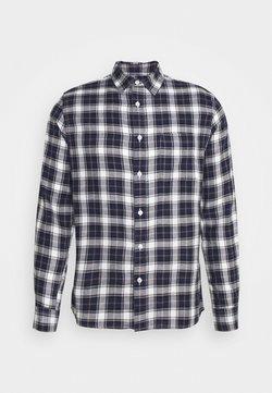 Burton Menswear London - LONG SLEEVE CHECK - Camicia - navy