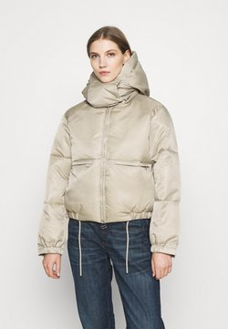 Weekday - HANNA SHORT PUFFER JACKET - Winterjacke - beige