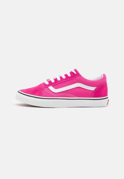 Vans - OLD SKOOL - Sneaker low - fuchsia purple/true white