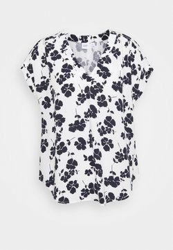 GAP Petite - T-Shirt print - navy/white