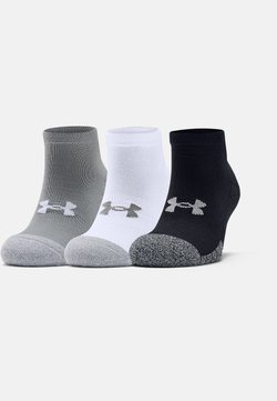 Under Armour - HEATGEAR LOCUT 3 PACK - Sportsocken - steel
