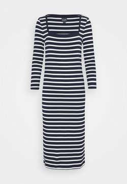Gap Tall - Jerseykleid - navy stripe