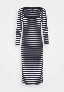 Gap Tall - Jerseykleid - navy stripe