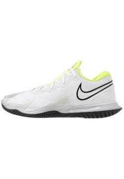 Nike Performance - AIR ZOOM VAPOR CAGE 4 - Zapatillas de tenis para todas las superficies - white/black/volt/pure platinum